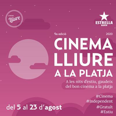 Cinema lliure a la platja 2020