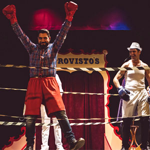 Espectacle de circ 'Beatbox Circ' de Improvisto's Krusty Show