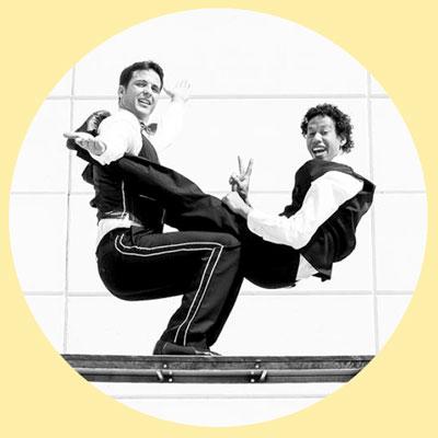 Espectacle de circ 'Vintage Brothers' amb Circo Los