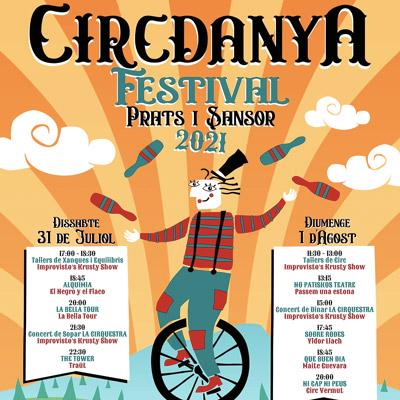 Circdanya Festival, Cerdanya, 2021