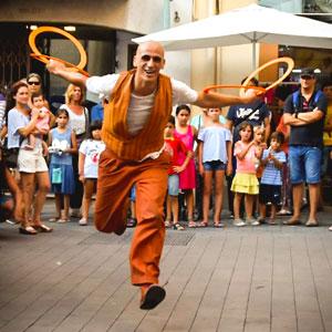 Espectacle itinerant 'Terrabastall de Circ' al festival de circ 'Pleniluni Circus' de Torredembarra, 2019