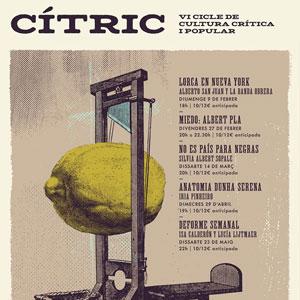 Cítric. VI Cicle de cultura crítica i popular - Barcelona 2020