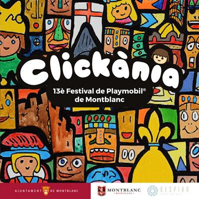 Clickània. 13è Festival de Clicks de Playmobil, Montblanc, 2021