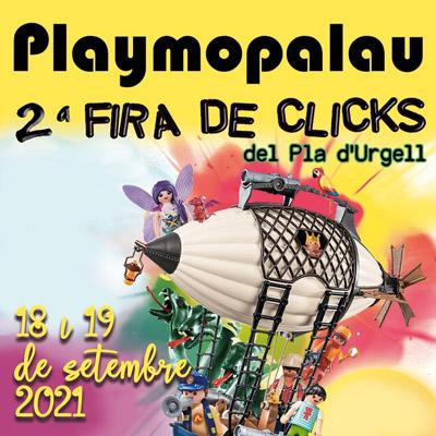 Playmopalau, fira de clicks del Pla d'Urgell, El Palau d'Anglesola, 2021