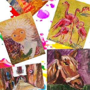 Exposició 'Els colors d'en Pere' de Pere Rebull Kvasnitskaya