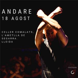 Espectacle de dansa 'Andare' al Festival Comalada