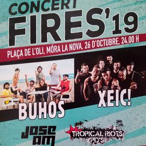 Concert Fires Móra la Nova 2019