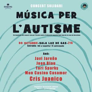 Concert solidari 'Música per l'Autisme' - Luz de Gas Barcelona 2019