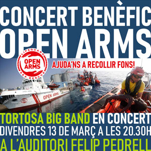 Concert benèfic Open Arms - Tortosa 2020