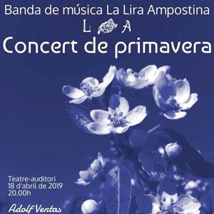 Concert de Primavera - La Lira Ampostina 2019