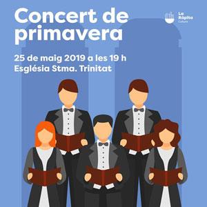 Concert de Primavera de l'Orfeó Pau Casals - La Ràpita 2019