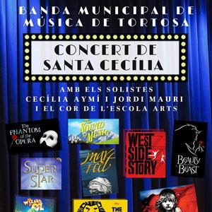 Concert de Santa Cecília - Banda Municipal de Música de Tortosa 2019