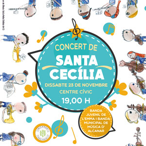 Concert de Santa Cecília - Alcanar 2019