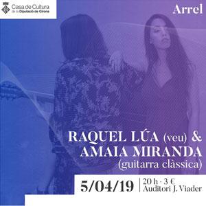 Concert de Raquel Lúa&Amaia Miranda