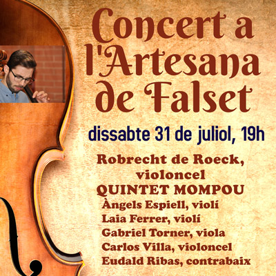 Concert del Quintet Mompou amb Robrecht de Roeck