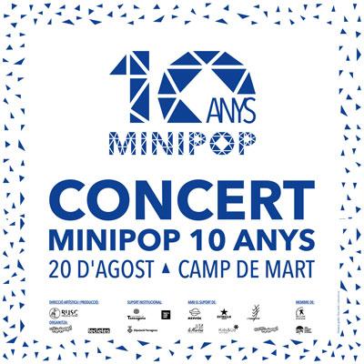 Concert d'aniversari del Minipop, 2020