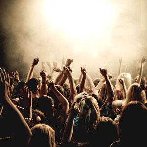 Públic de concert, Concert, Espectacle