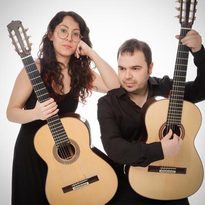 Duo Ribera Sàbat, format per Maria Ribera i Jordi Sàbat