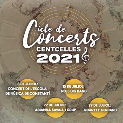 Cicle de Concerts a Centelles, 2021