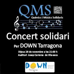 Concert 'Químics i Músics Solidaris' per Down Tarragona a Vila-seca, 2019