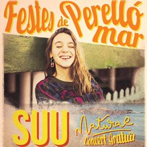 Concert de Suu a les Festes de Perelló Platja, 2019