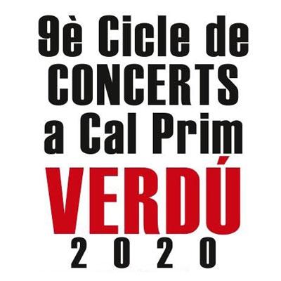 9a edició Cicle de Concerts a Cal Prim, Verdú, 2020