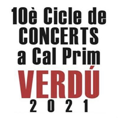 Cicle de Concerts a Cal Prim, Verdú, 2021