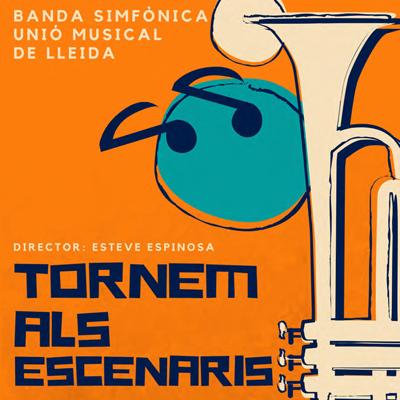 Concert 'Tornem als escenaris' de la Banda Simfònica Unió Musical de Lleida, 2020