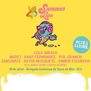 Concert 'Los 40 Summer Live' a Tossa de Mar, 2019