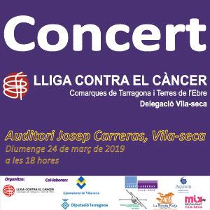 El concert solidari Contra el Càncer
