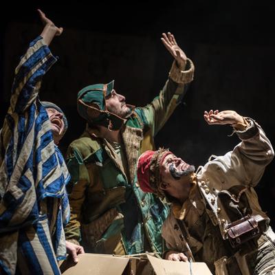 Espectacle 'Bye Bye, Confetti' deLa Baldufa