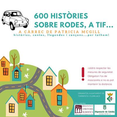 600 històries sobre rodes, Palou, Bellveí, Sedó, Florejacs, 2020
