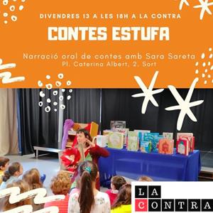 Narració oral de contes, Contes Estufa, Sort, 2019