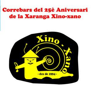 Correbars del 25è Aniversari de la Xaranga Xino-xano - Tortosa 2019