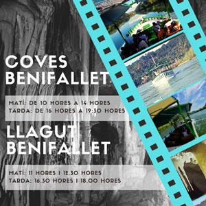 Coves de Benifallet + Llagut Benifallet - Setmana Santa 2019