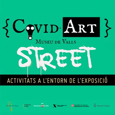 CovidArt Street, Valls, 2020