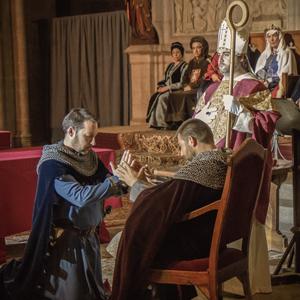 Espectacle 'Credencials, el pacte feudal' dins la Setmana Medieval de Montblanc, 2020