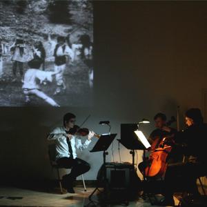 Projecció de 'Jánosik' amb el Trio Mandràgora a la Cripta de l'Ermita de Cambrils