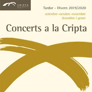 Concerts a la Cripta de l'Ermita, tardor-hivern, Cambrils, 2019