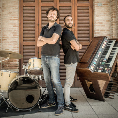 Corcs Drum&Organ, Joan Sobrevals i Oriol Cases