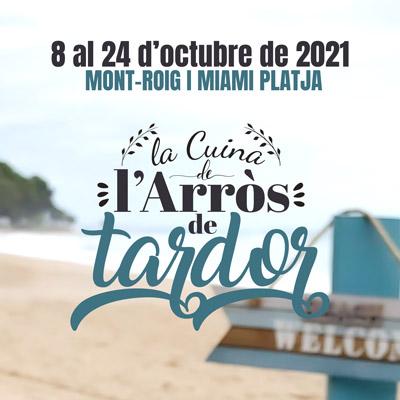 Jornades Gastronòmiques de la Cuina de l'Arròs de Tardor, Mont-roig del Camp, 2021