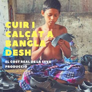 Exposició 'Cuir i calçat a Bangladesh: el cost real de la seva producció'