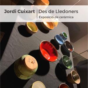 Exposició 'Des de Lledoners', peces de ceràmica de Jordi Cuixart