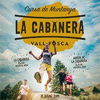 Cartell genèric de la cursa de muntanya La Cabanera
