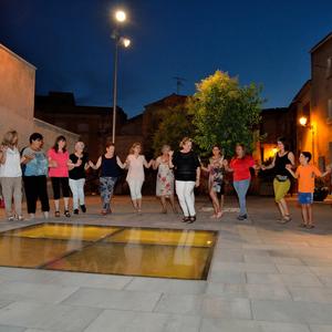 Taller de dances gregues a Ivars d'Urgell, 2019