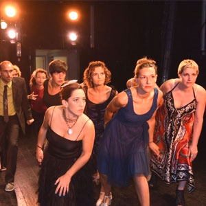 Espectacle de dansa 'Oceans' a càrre del grup El Mirall
