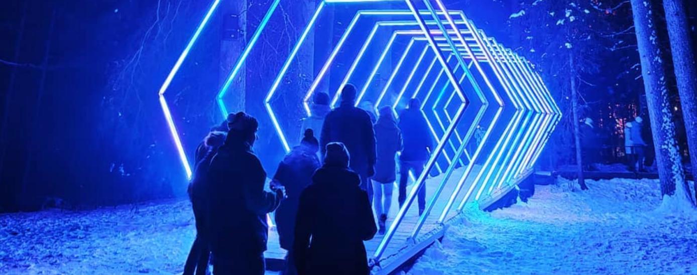 La instal·lació Hexx Øne al festival Zauberwald de Suïssa.