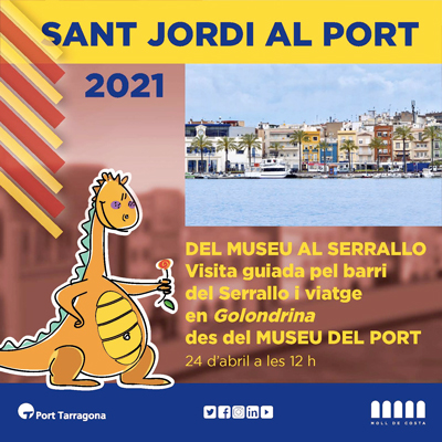 Visita guiada 'Del Museu al Serrallo', Sant Jordi, Port de Tarragona, 2021