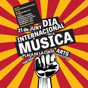 Dia internacional de la Música - Arts Revolution Tortosa 2019