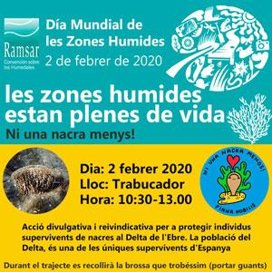 Dia Mundial de les Zones Humides - Platja del Trabucador 2020